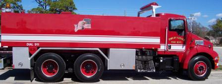 A picture of one of the Florence Fire Department Trucks
