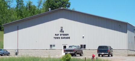 A picture of the Ray Steber Town Garage