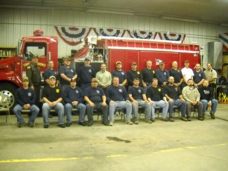 Picture of the Florence Volunteer Fire Department